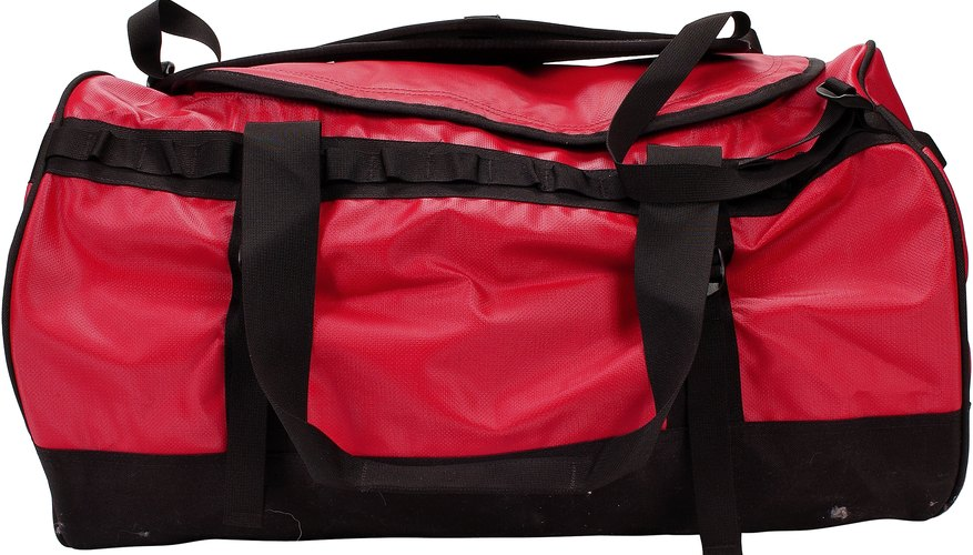 Many duffel bags are build wide to accommodate large sporting gear.