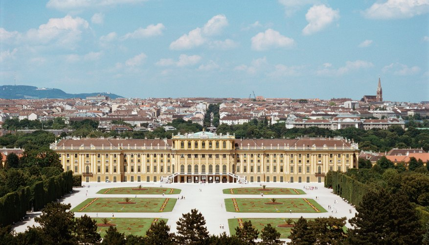 Vienna is an ideal destination after a fairy tale wedding ceremony.