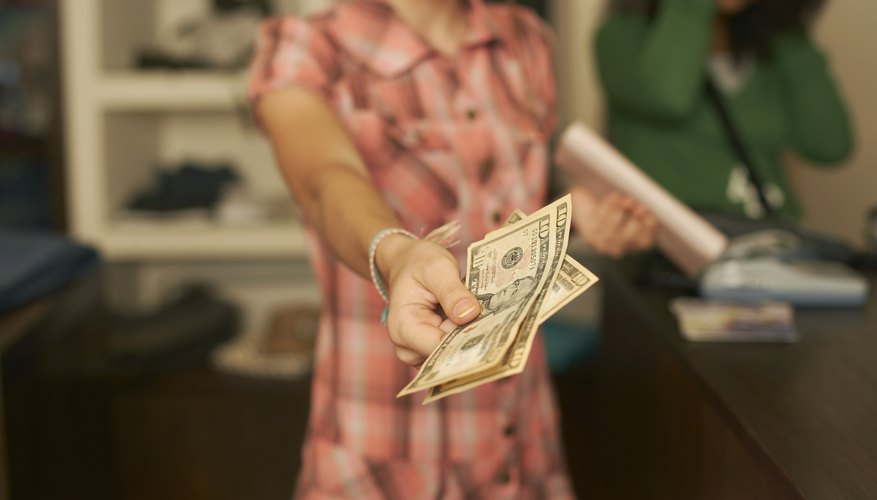 A sudden offer of cash can be off-putting to some people.