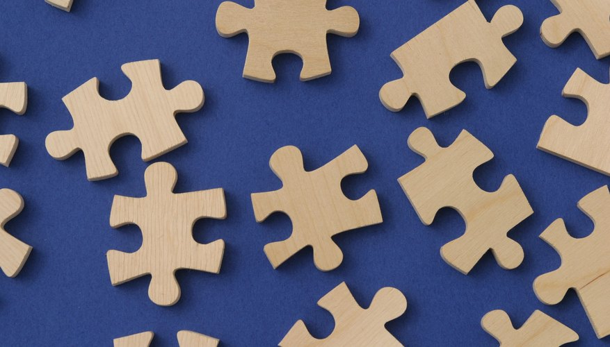 Puzzles stimulate brain activity.