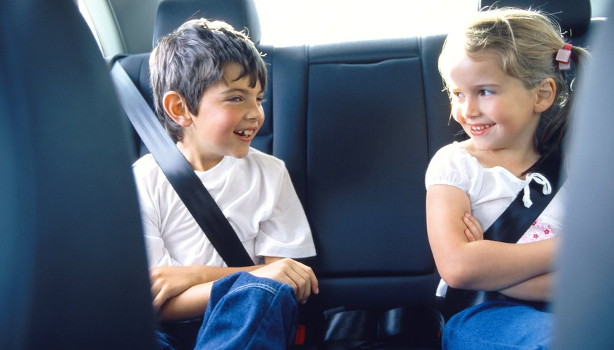 When hiring a nanny to drive your children, be sure to set proper safety rules for her to follow.