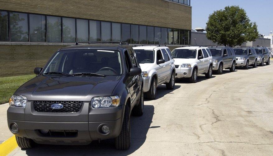 Bill Ford Unveils Ford's First Hybrid Car