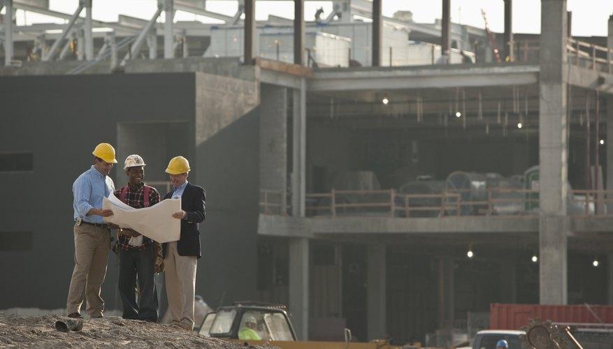 Las compañías de construcción tienen una jerarquía dentro y fuera de las instalaciones.