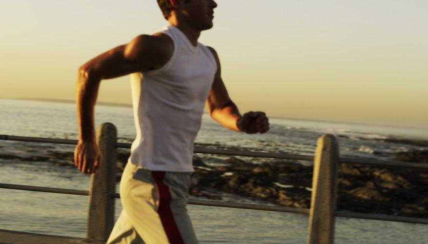 Jog for an hour each day