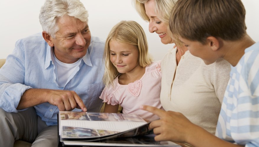 Older parents may put their children first in their lives.