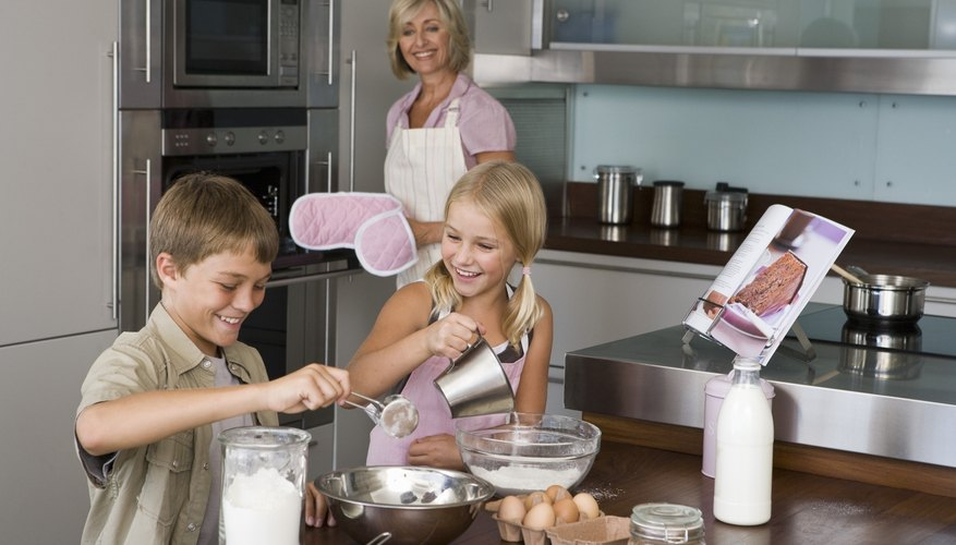 Trust your kids in the kitchen if they show an interest.