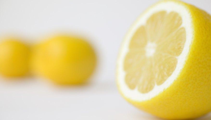 Lemon juice has a pH of about 2.0.