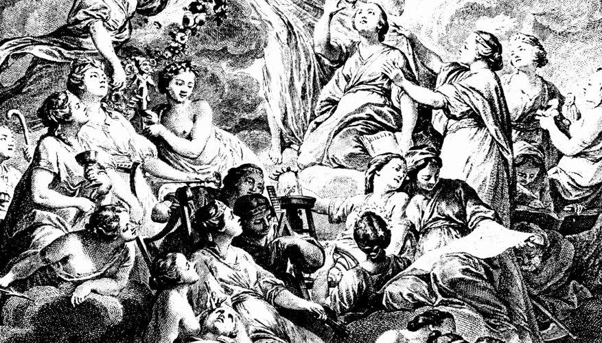Muchas alegorías representan ideas filosóficas o teológicas.