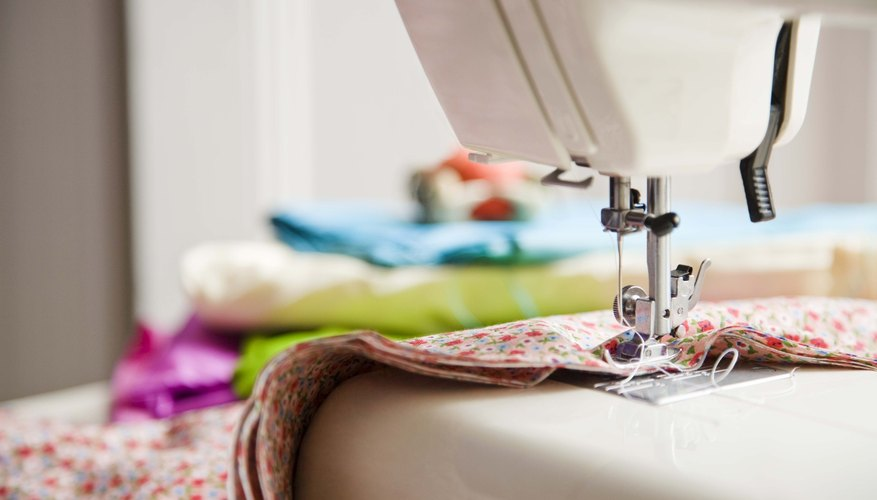 Sewing a skirt with no waistband is a project that can enhance a novice seamstress skills.