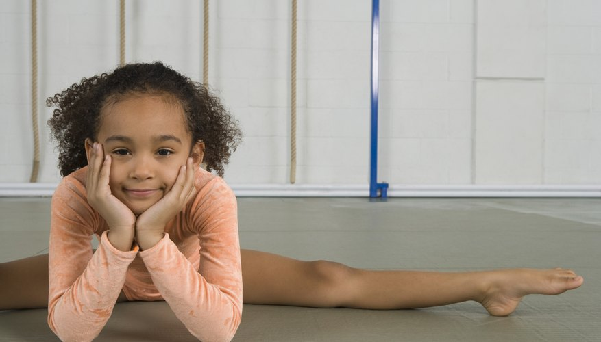 Children are typically more flexible than adults.