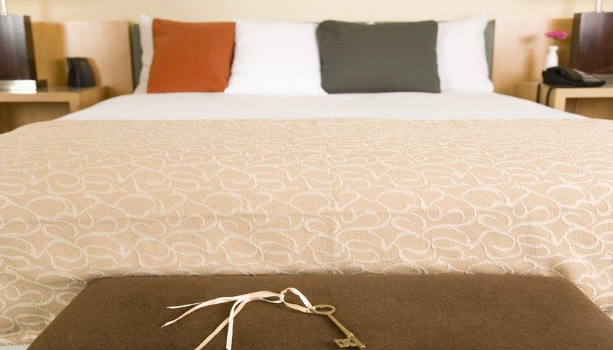 Cuando piensas en las habitaciones de un motel piensas en comodidad y funcionalidad