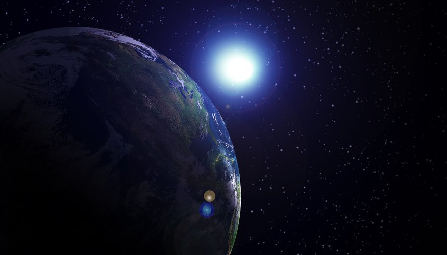 Planets and stars are formed by similar processes.