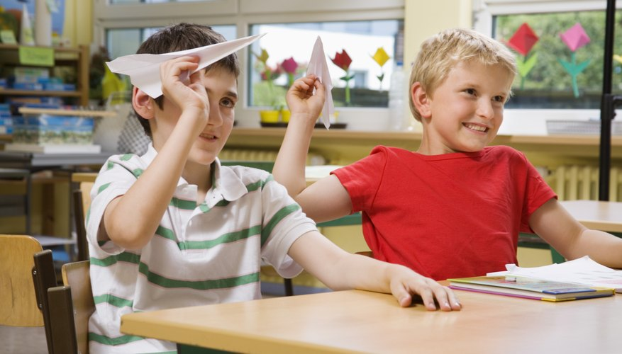 Consequences at home can often encourage better behavior at school.