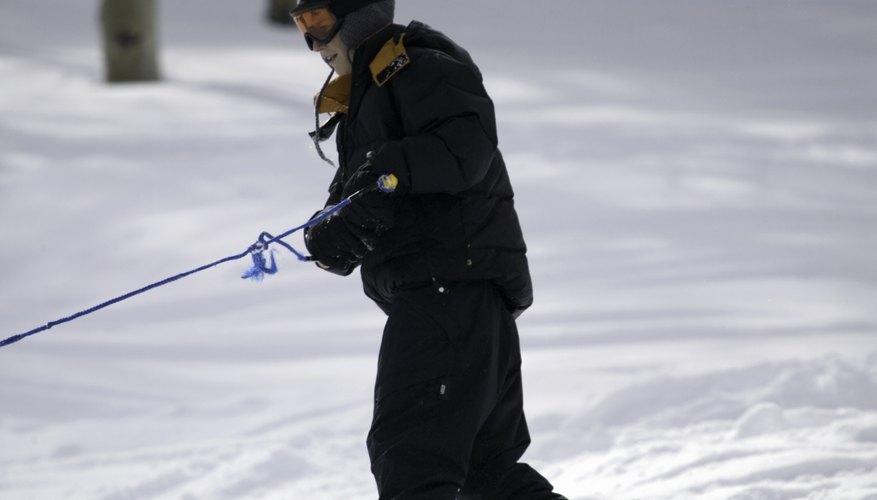 Ski tow rope operations are frequently used by beginner skiers.