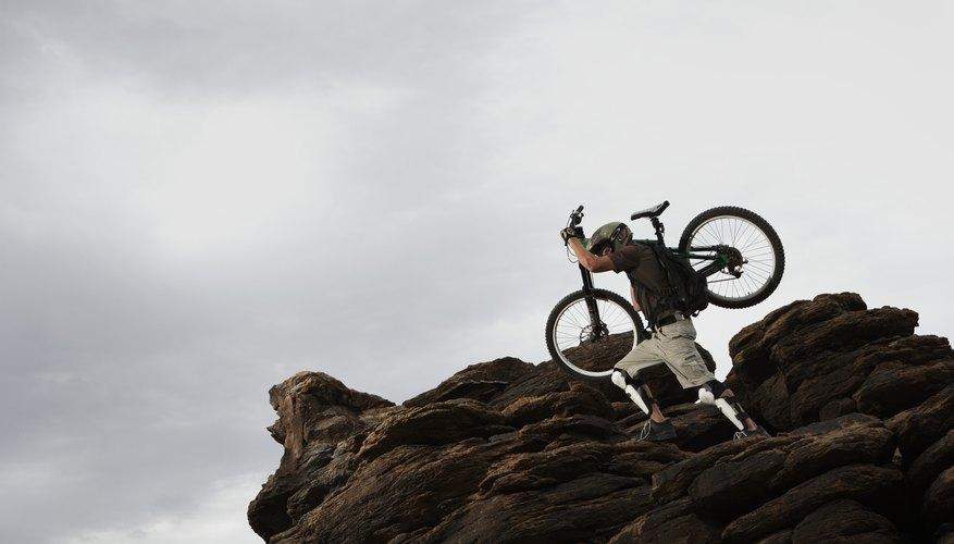 El tamaño de las ruedas debe corresponder a la talla del ciclista.