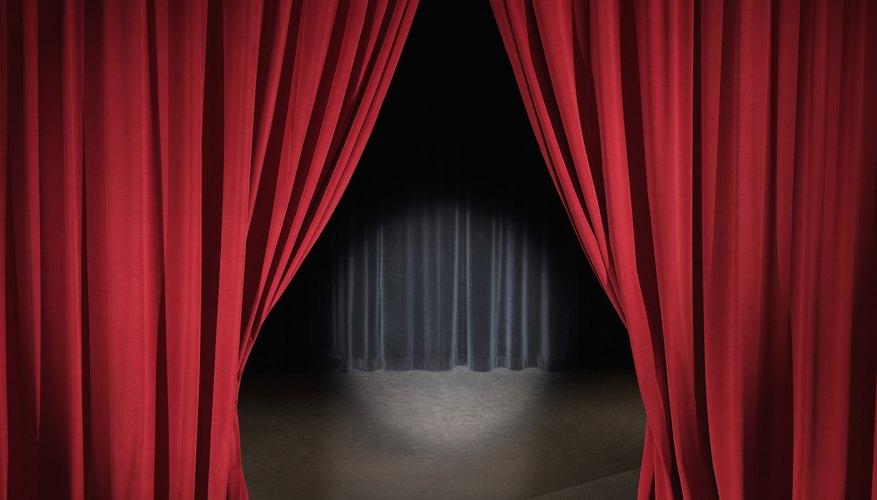 El acordelado italiano es lo que hace que las cortinas de un escenario se abran de la forma en que lo hacen.