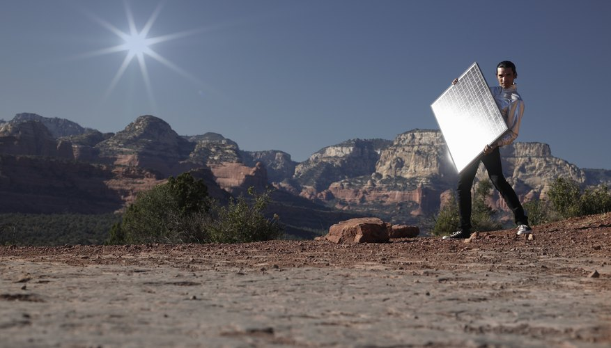 You can rely on solar panels in remote locations.
