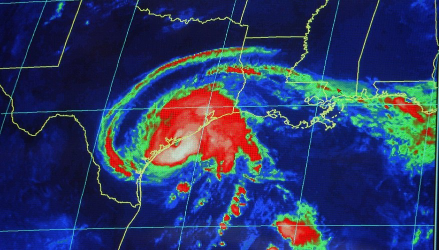 Modern radar and satellite images help predict and track hurricane pathways.