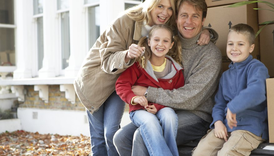 A low-interest down payment loan can help families purchase a home.