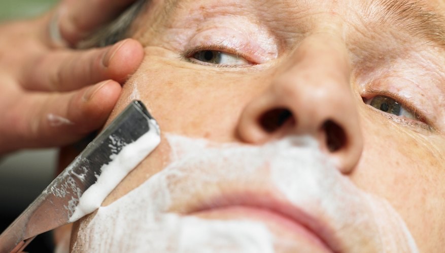 People with glycerin allergies may be sensitive to shaving creams.
