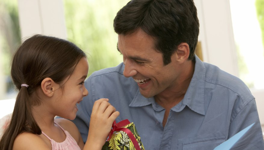 A 'daddy's girl' has strong, positive feelings for her father.