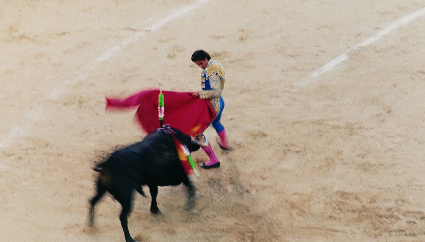 The Paso Doble emulates the Spanish bull fight.