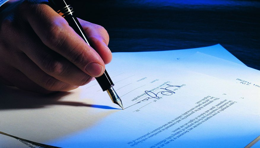 A deed in lieu involves signing your property over to your lender.
