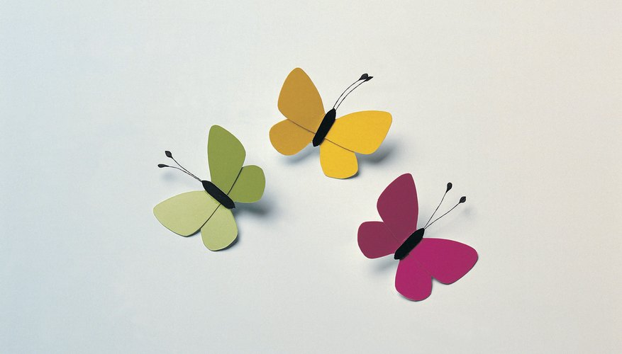 Make your butterfly as elaborate or as simple as you want.