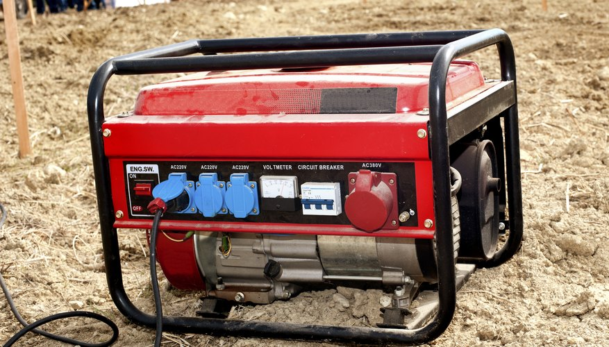 Gas generators can supply power to appliances if the electrical grid goes down.