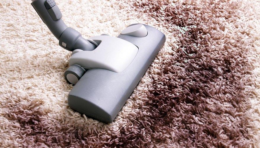 Vacuum carpeted floors.