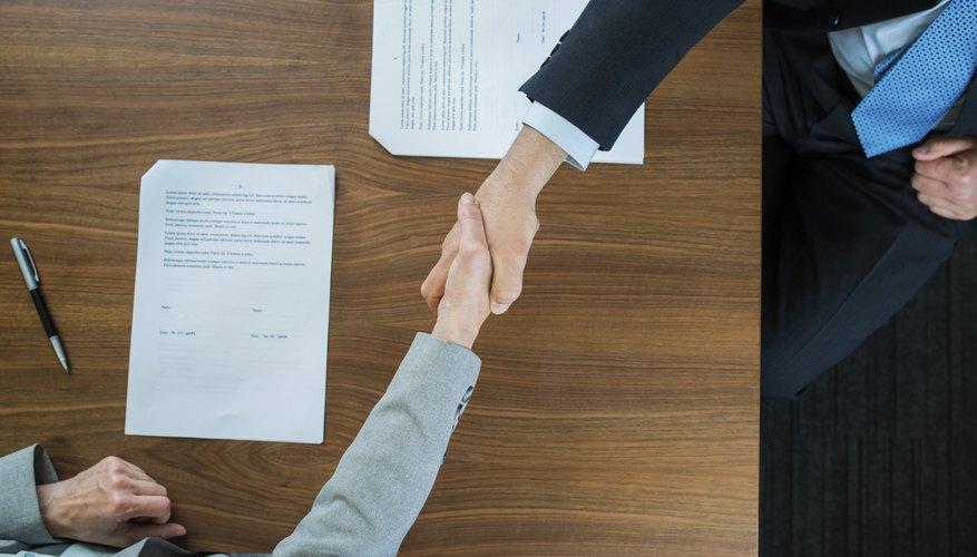 What Is A Framework Agreement Bizfluent