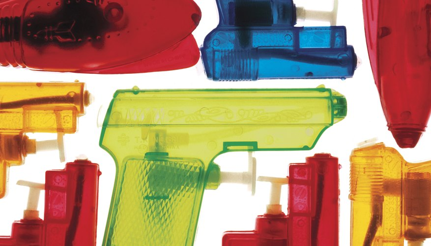 Playing with toy guns doesn't usually increase aggression and violence.