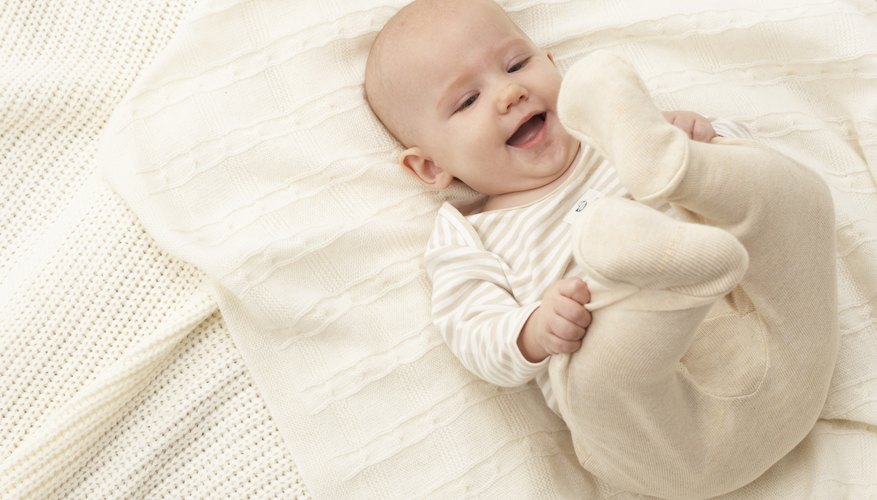 Yellow stains in baby clothing can be unsightly.