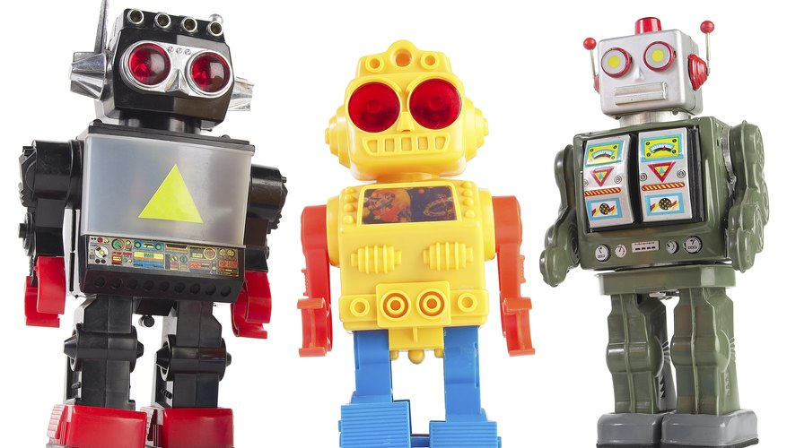 Robots both real and imagined star in a variety of children's books.