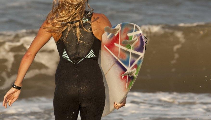 Vivir de la playa es el sueño de todo surfista.