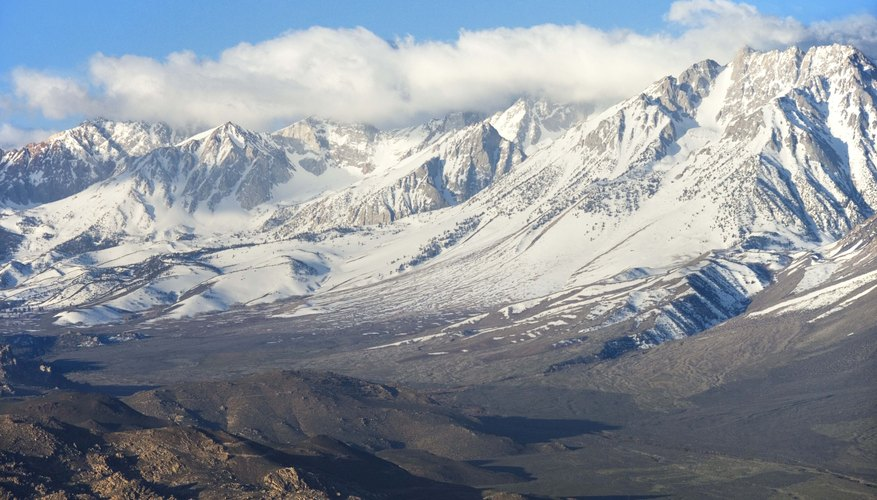 The Sierra Nevada Mountains are considered a young mountain range.