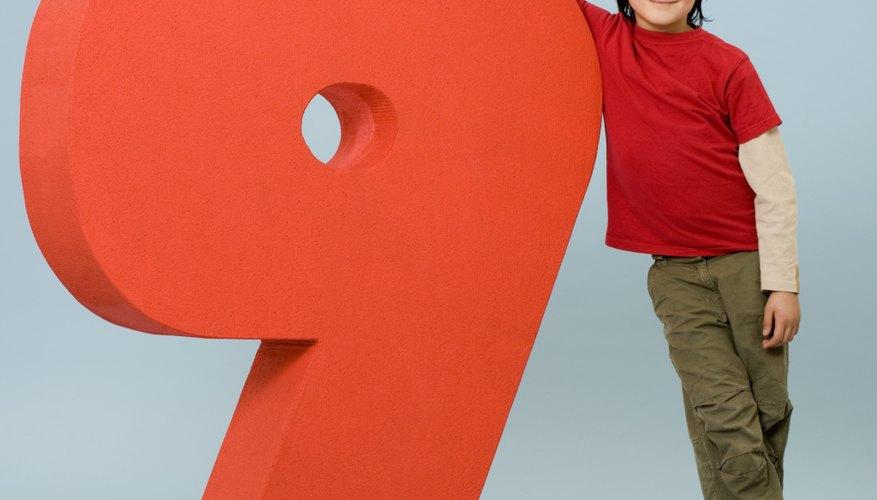 El truco del número 9 es una buena forma para impresionar a tus amigos.