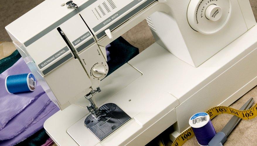 Las máquina de coser necesitan mantenimiento regular.
