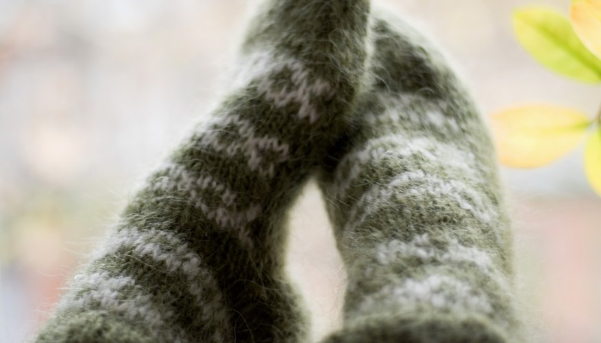 Wool socks are an interesting project to take on as a knitter.