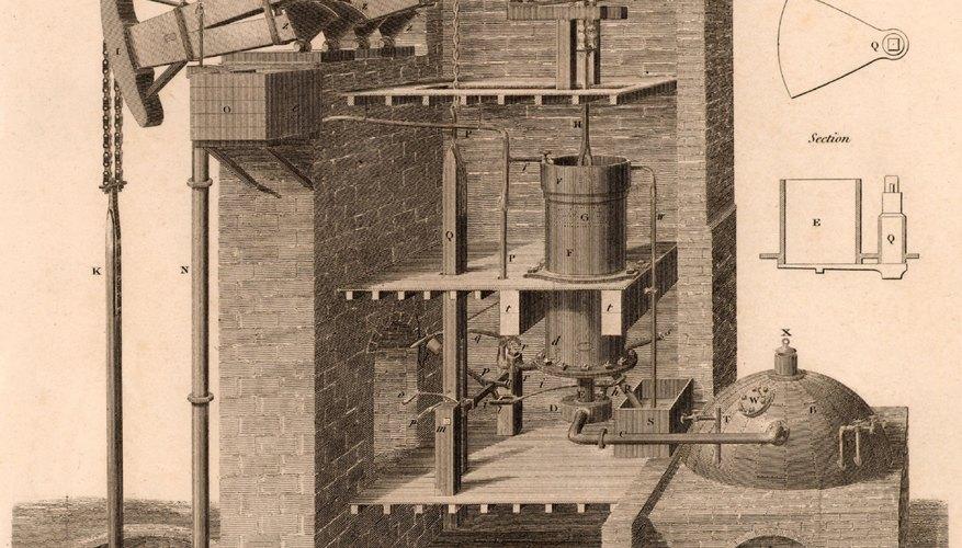 Las máquinas a vapor cambiaron el mundo.