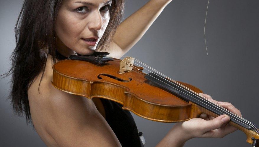El alma es el palo pequeño dentro del violín.