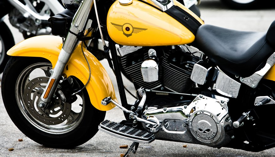 A motorcycle bought for business use depreciates over 5 years, but the bike's resale value can vary.