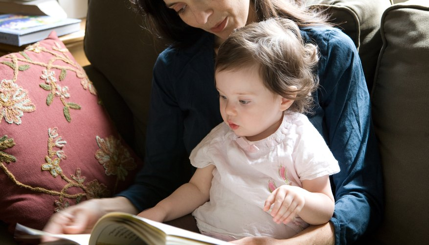 Rhyming books are particularly popular with young toddlers.