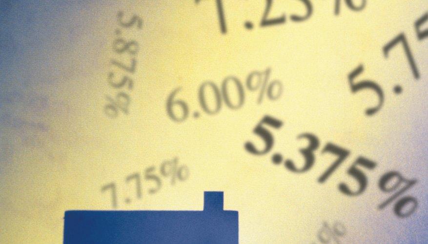 Las tasas de interés son un factor determinante al cálcular el interés compuesto y el descuento.