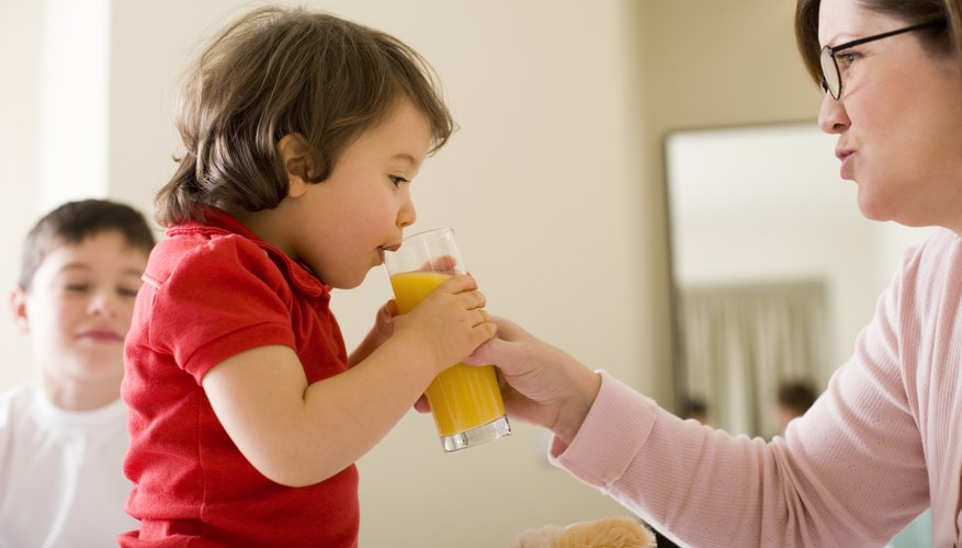 Most children love orange juice.