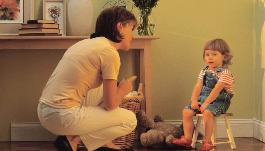 Telling your child what to expect can help her to learn how to behave appropriately.