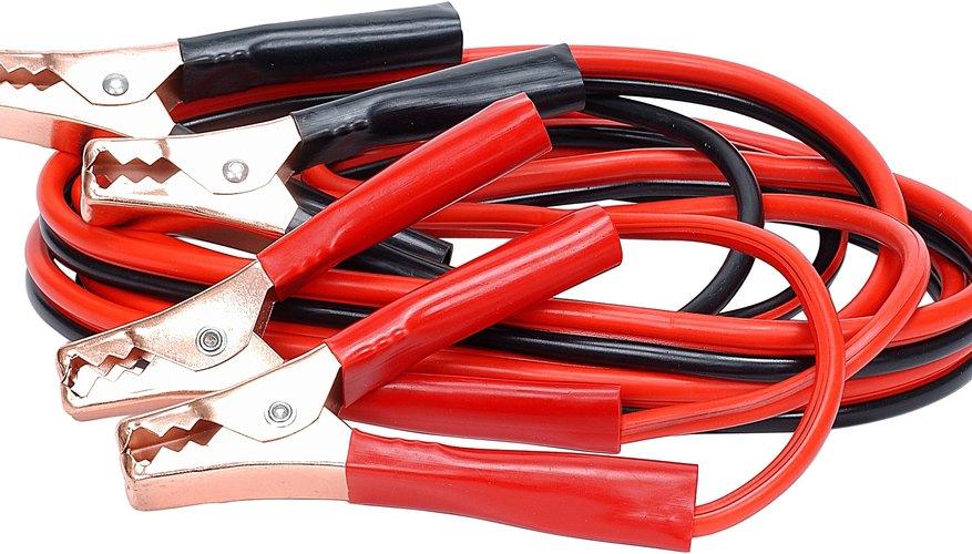 Los cables de conexión para la solución de problemas de cables eléctricos necesita de cables muchos más pequeños que los cables de conexión para automóviles.