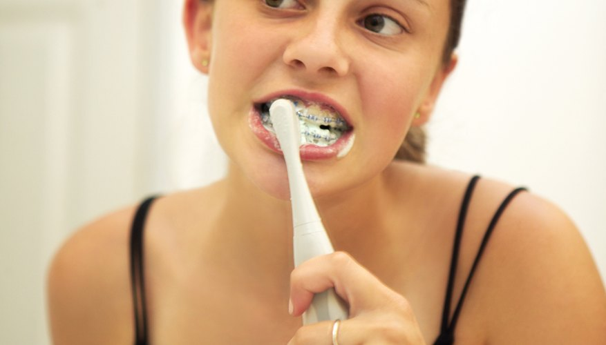 Learning to brush your teeth properly is an important life skill.