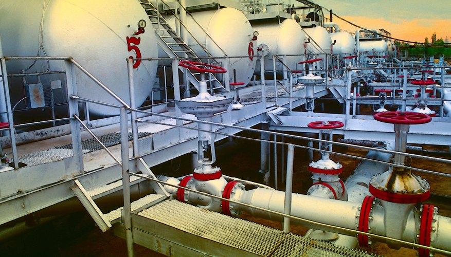 Las bombas de paletas son utilizadas para transferencia de producto en el sector petrolero, entre otros.