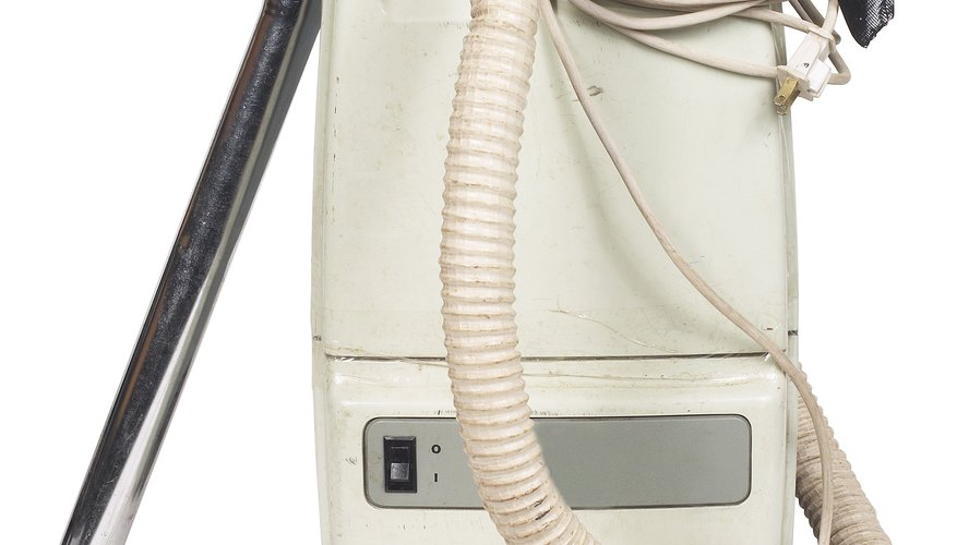 Several vacuum accessories and the cord have prongs.
